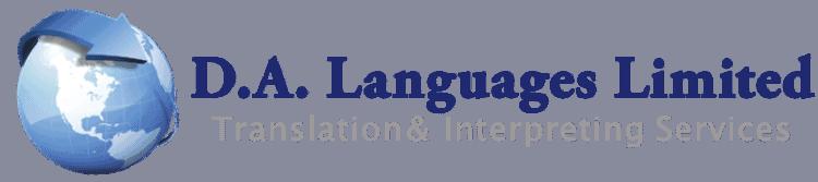 da languages logo