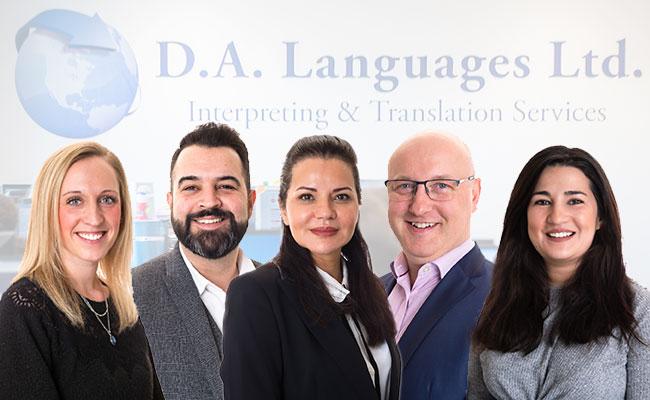 about DA languages